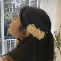 Hair Clips & Barrettes Rainbery 2021 Lace Flower Pins Accessories Cute Hairclip For Women Girls Hairpin Wedding Bridal Jewelry