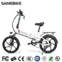 SAMEBIKE 20LVXD30-II Bicicleta eléctrica plegable 32km / h Smart Bicycle 48V 10.4Ah Batería de batería 20 pulgadas Neumático Ebike Sin impuestos Vehículo actualizado