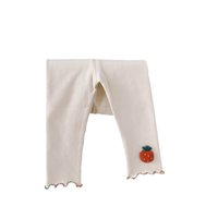 Girls Leggings Baby Pants Kids Tights Toddler Clothes Infant Clothing Spring Autumn Cotton Princess Long Trousers Wear 0-3T B8654