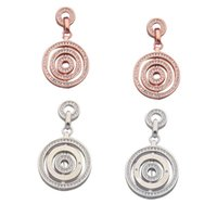 Luxurious Designer Jewelry Earrings Sub-Gold Edition Ladies with Rotatable Ring and Diamond Earrings High Fashion