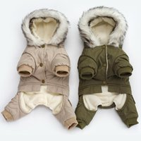 Dog Apparel Cool Rider Pet Jumpsuits Winter Thicken Clothes For Small Dogs Puppy Coat Warm Jacket Chihuahua Yorkies Clothing