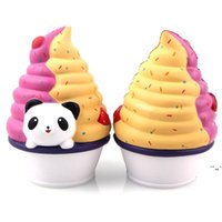 Squishy cute animal toys ice cream PU Super Squeeze Slow Rising kawaii Squishies Simulation decompression toy children ornaments OWA4815