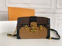 Luxurys Designers Real Genuine Leather Bag Ombro Bolsas Crossbody Bags Moda Homens Menino Mensageiro Bags