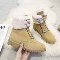 2021 Womens Designers Rois Boot Ankle Martin Boots and Nylon military inspired combat bouch attached size 35-40