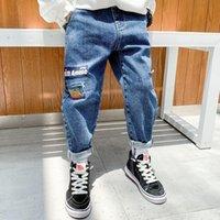 Jeans Boys Pants Casual Kids Boy Denim Clothing Classic Long Children Spring Fall Fashion Trousers Bottoms
