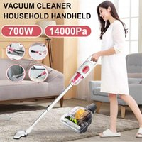 Vacuum Cleaners 2 In 1 700W Portable Handheld Cleaner 14000Pa Strong Suction Home Aspirator Sweeper Car Pet Hair Carpet Mite Removal
