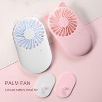 Mini USB-Wiederaufladbare tragbare Taschenventilator für Heim- und Büro-Kühltluft-Handheld-Reisekühler-Kühlung kleine Fans