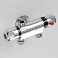 Mode Verkopen Thermostatische Mengkraan Douche Oppervlakte Gemonteerde Mengklep Solar Water Heater TR504 Badkamer Sets