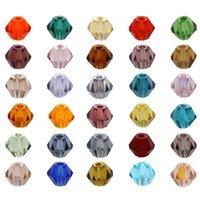 Isywaka venda azul verde ab cor 650 pcs 3mm bicone Áustria cristal grânulos de vidro grânulos soltos espaçador talão para jóias diy fazendo 845 t2