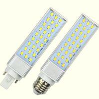 Ampuller SMD 5730/5630 SpotLight 180 Derece AC85-265V Yatay Fiş Işık 10 W 12 W 15 W 18 W 20 W 25 W E27 G24 G23 LED Mısır Ampul Lamba