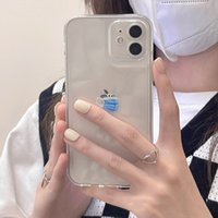 Cell Phone Cases Simple Creative mask For iPhone 11 Pro Max X XS XR 7 8 Plus 12 Smooth Back Cover By DHL