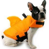 Dog Apparel Pet Safety Lifejacket Small Medium Animal Life Vest Swimming Lifesaver Clothes