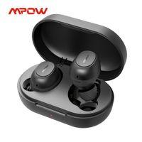 MPOW MDOTS Bezprzewodowe słuchawki Bluetooth 5.0 True Wireless Earbuds z dziurkowanym basem 20HRS Odtwarzanie IPX6 Waterproof Wbudowany MIC