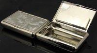 9.85 * 7 * 1,95 cm Neue Tasche Weißblech Zigarettenhersteller Zigaretten Roller Tabak Fall Box Halter Zigarre Rauch Rauchen Mühle DWF9323