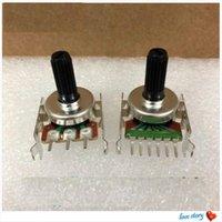 스마트 홈 컨트롤 1PCS 유형 161 3 오디오 전위차계 B10K A10K B100K B20K B50K 핸들 길이 15mm