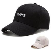 Hat cap trendy Hat men's women's under Embroidered Baseball Cap outdoor sun hat in spring and summer