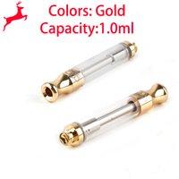 Brass Knuckles vape cartridges 1.0ml gold atomizer tank thick oil pen 2021