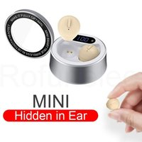 Headphones & Earphones Mini Earphone Bluetooth-compatible Invisible Wireless Small Headphone Hidden Earbuds Micro Headset With Microphone Fo