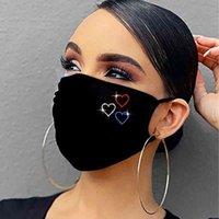 Maske Strass Sexy glänzend Weinglas Strass Maske Dekoration für Gesicht Nachtclub Fashion Designer Jewerly Mask