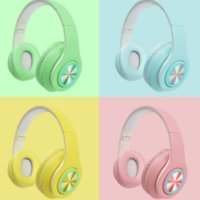 Bluetooth 5.0 Wireless Headphones With HD Mic Headset Support TF Card Earphone Adjustable Foldable Headphone For Phone PC