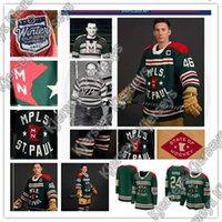 Minnesota 2022 Inverno Clássico Reverse Retro Jersey 97 Kirill Kaprizov Zach Parise Jason Zucker Jared Spurgeon Matt Dumba Hockey Jerseys Costume Selvagem Costume