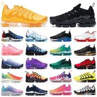 2021 vapormax plus الرجال النساء احذية الجري الساحلية الزرقاء الغروب أتلانتا نفسية الوردي المعدني الذهب الثلاثي الأحمر أحذية رياضية للرجال في الهواء الطلق