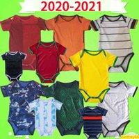 아기 키트 축구 유니폼 이탈리아 스페인 일본 Mecixo 아르헨티나 키즈 슈트 2020 2021 월 소년 자식 세트 아이 축구 셔츠 유니폼 최고의 품질