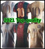 20 21 Argentina Conceito Futebol Jerseys 2021 Copa América Messi Maradona Distintivo Especial Elementos De Ouro Camisa De Futebol Uniformes
