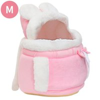 Cat Beds & Furniture Warm Pet Carrier Bag Comfortable Small Dogs Backpack Winter Plush Pets Cage For Outdoor Travel Hanging Chest Bags