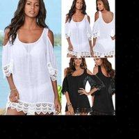 Plus Size Beachwear Swimwear Womens Dress Bikini Cover Up Kaftan Summer
