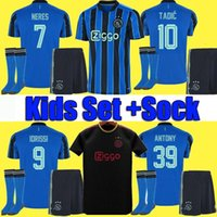 22 2022 HALLER 20 21 AJAX camiseta de fútbol de amsterdam 2020 2021 TADIC KLAASSEN TRAORE PROMES NERES CRUYFF hombres kit de niños camiseta de fútbol uniformes 50 °