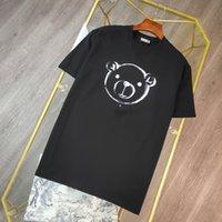 2021 رجل النساء مصممين تي شيرت أزياء الرجال s عارضة القمصان رجل الملابس الشوارع مصمم السراويل الأكمام الملابس بلايز 20ss