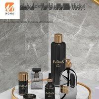 Baño de mármol de lujo Bandeja de mármol de mesa de estar cómoda de escritorio Joyería de escritorio Cosmetics de alta gama Estante Botellas de alta calidad Frascos