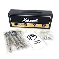 Marshall Jack Cremalheira Telefone Telefone Montagem Guitarra AMP Chave Gancho 4 Guitarras Plug Keychains Gancho Teclas Tomada JCM 800 Standard Jack Rack 2.0