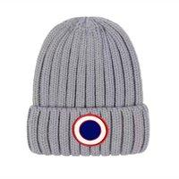 Мужчины дизайнер Beanie роскошные унисекс вязаная шапка Gorros капон Канада вязание шляпы классические спортивные черепные колпачки женщин повседневные наружные гусиные шапочки