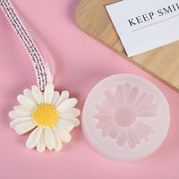 Baking Moulds Chamomile Gypsum Silicone Candle Mold Daisy Flower DIY Candy Chocolate Making Tools Decoration