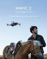 "DJI MAVIC 2 Zoom RC Drone 3-Axis Gimbal Kamera 1/23 ""CMOS Sensörü 2x Optik 48MP Süper Çözünürlük Fotoğraf Katlanabilir"