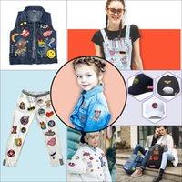1 pcs patchs aléatoires vêtements notions de couture outils de fer transfert applique patch pour sacs jeans diy coudre sur toutes sortes autocollants de broderie