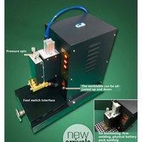 Professionna Exercices électriques 220V Grande batterie Matériel de voiture pneumatique 1KW Machine de soudage portable AC Spot Lithium Outil
