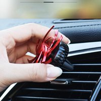 Car Air Freshener Auto Outlet Perfume Rotating Interior Decoration Accessories