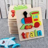 Lettera di legno dei bambini Alfabeto di alfabeto Puzzle educativi Giocattoli Alfabeto Insegnamento Puzzle per 3-7 bambini FY6029