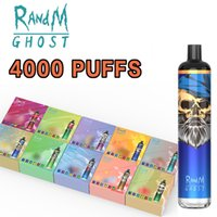 Fumot Orignial Disposable E Cigarette Randm Dazzle Ghost 4000 Puffs with USB charging port at the bottom