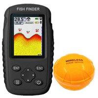 Finder FFC1108-1 Wiederaufladbare Tiefenfische 100m Fishfinder Sensor Wireless Sonar Tragbare Locator Wireles