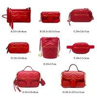 النساء المصممين المصممين حقائب الكتف حقائب الكتف حقائب اليد عبر الجسم دلو حقيبة المألوف الأوروبي والأمريكي نمط متعدد الوظائف الديكور مخطط الكلاسيكية