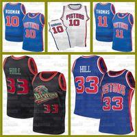 Grant 33 pistones de la colina10 Dennis Rodman Isiah Thomas RJ 9 Barrett KnicksJerseyypatrick 33 Ewing Jersey Reggie Miller Victor Oladipo