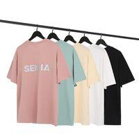 Мужская стилист футболка Друзья Мужчины Женщины Высокое Качество Черный Белый Оранжевый