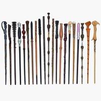 30 Вид косплеи металла / железа Core Core Potter Magic Wands Фигурки детей Смешные игрушечные палочки подарок без коробки