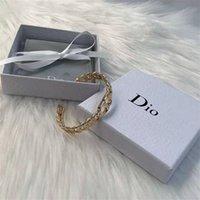 Designer Schmuck Eröffnung Armband Messing Material Mode Einfache Armband Frauen Wkhh