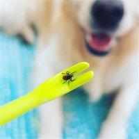 Человеческий портативный крючок Twister Twister Remover Hource Cat Dog Pet Saceates Tick Remover Tool Animal Flae Touch 2 Шт. / Комплект / Лот 2054 V2