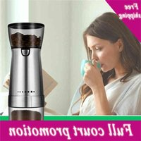 Electric Grinder Pepper Coffee beans Slicing Ceramic grinding Core 55G Powder Kitchen Tool Poison